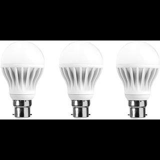 LNVO 7 Watt LED Bulbs Pack of 3 , Cool Day Light