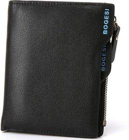 Easydeals BOGESI designer 2016 gentleman fashion small mini men wallets Business Money Clips pu Leather purse hand brand