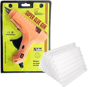 40 W Hot Melt Glue Gun with Glue Sticks ,40 Pieces