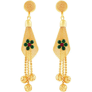 MJ Adorable Gold Plated Dangler Earring For Women