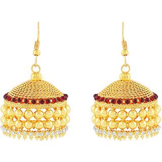 MJ Charming Gold Plated Jhumki Earring For Women