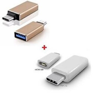 USB 3.1 Type C Micro USB 2.0 Charging Converter and Metal OTG USB 3.0 adapter Other Accessories