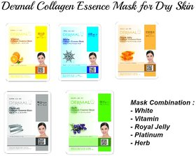 Dry Collagen Mask 5 Pack