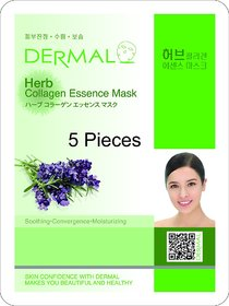 Herb Collagen Mask 5 Pack