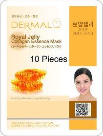 Roya lJelly Collagen Mask 10 Pack