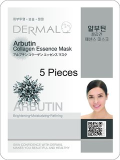 Arbutin Collagen Mask 5 Pack