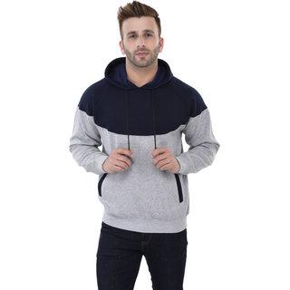 Weardo Men's Stylish Non-Zipper Designer Hooded Sweatshirt