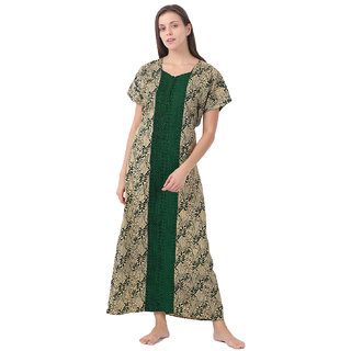 Klamotten Cotton Women Maxi Nightwear