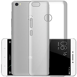 ECS Transparent Soft Back Case Cover For Redmi Y1 (2017 Launch)