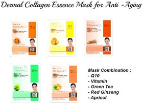 Anti Aging Collagen Mask 5 Pack