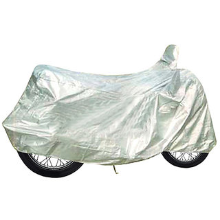 Water Proof Body Cover For TVS Wego- Silver