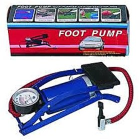 foot pump all bike and car football