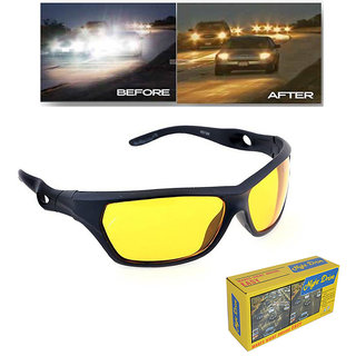 bfc0e1edf38 Buy Lee Topper Yellow Night Vision Wrap-around Unisex Sunglasses Online -  Get 81% Off