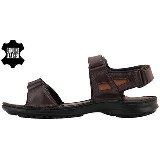b40de49c7f1627 Buy MyWalk Mens Brown Velcro Sandals Online - Get 50% Off