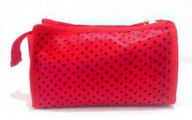 Must Visit Polyester Silk Polyester Multipurpose Wallet Pencil Pouch Travel Clutch Makeup Toilet Kit Handbag Organiser M