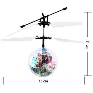 J H Traders Flying Infrared Sensor 3D light Ball
