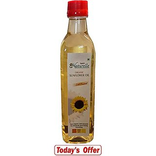 Farm Naturelle (Farm Natural Produce) Organic Sunflower Oil 415Ml