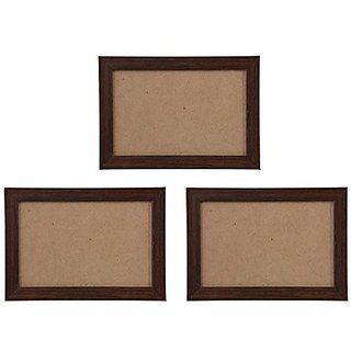 Buy Nirathisayam Synthetic Photo Frame 17 Cm X 12 Cm X 1 Cm Brown