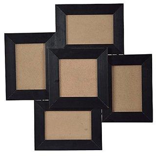 Nirathisayam Synthetic Photo Frame (44 Cm X 44 Cm X 3.5 Cm, Black)