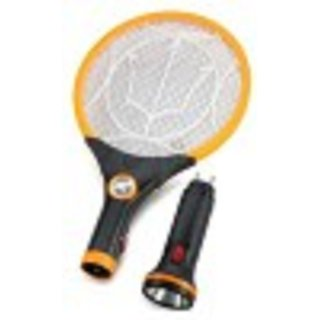 Buy Rechargeable Mosquito Bat With Two Torches Electric Insect