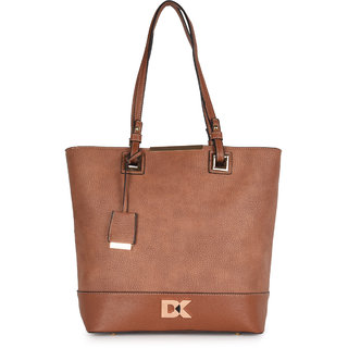 Diana Korr Brown Shoulder bag DK67HBRW