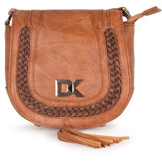 Diana Korr Tan Sling Bags  DK80STAN