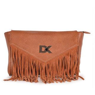 Diana Korr Brown Sling Bags  DK81SBRW
