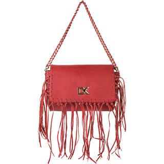 Diana Korr Red Sling Bags  DK79SRED