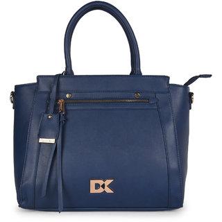 Diana Korr Dark Blue Shoulder bag DK74HBLU