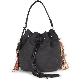 Diana Korr Black Shoulder bag DK75HBLK