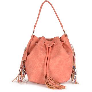 Diana Korr Peach Shoulder bag DK75HPEA