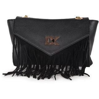 Diana Korr Black Sling Bags  DK81SBLK