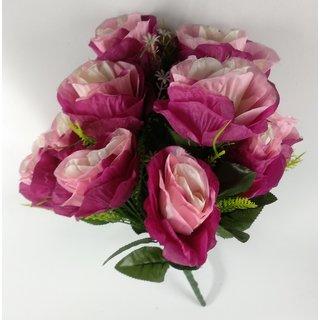 S N ENTERPRISES 4654 purple pink Rose