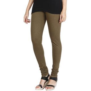 HRINKAR MEHENDI Soft Cotton Lycra Plain girls leggings combo Size - L, XL, XXL - HLGS1529-XXL
