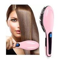 Hair Straightener Brush/Hair Styler Brush