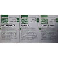OSWAAL CBSE 2018 EXAM SAMPLE PAPERS  COMBO PACK OF 3 SUBJECTS MATH SCIENCE AND SOCIAL SCIENCE CLASS 10