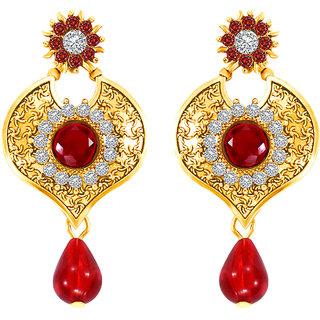 MJ Charming Gold Plated Dangler Earring For Women