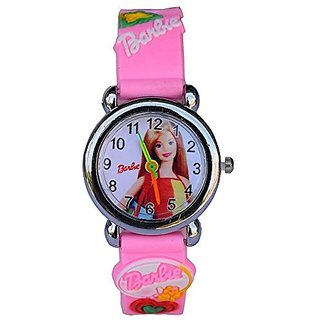 New Barbie kids analog watch With 6 month warranty