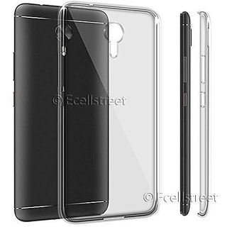 new products 235a4 52c6b ECS Transparent Soft Back Case Cover For VOTO V2