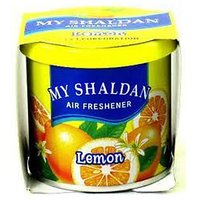 My Shaldan Lemon Gel Car Perfume For Car, Home, Office