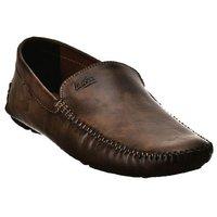 Lee Fox Brown Color Designer Loafer For Men