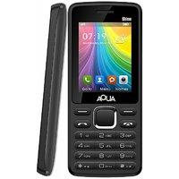 Aqua Shine Dual SIM Basic Mobile Phone - Black - 2100 M