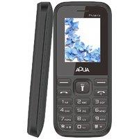 Aqua Phoenix Dual SIM Basic Mobile Phone - Black
