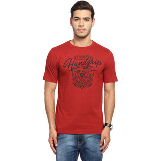 Handgrip Rosewood Red Graphic T-Shirt