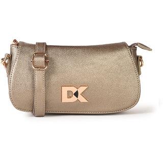 Diana Korr Gold Sling Bags  DK83SGLD