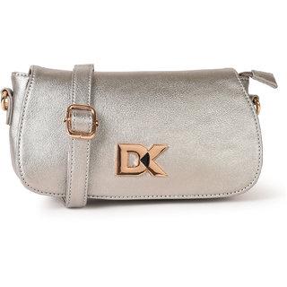 Diana Korr Silver Sling Bags  DK83SSLV