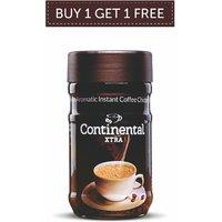 Continental XTRA Coffee Powder 50g Jar ( Buy 1 + Get 1 Free )