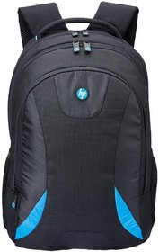 HP Black & Blue Polyester Laptop Bag (Above 15 Inches)