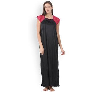 Klamotten Satin Long Maxi Nightwear