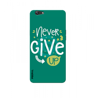 PEEPAL Oppo F3 Designer & Printed Case Cover 3D Printing Quote Design